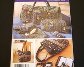 Quilted Accessories Pattern - Simplicity 5025 Pattern - Sewing Pattern - Duffle Bag - Shoe Carrier - Eyeglass Case - Toiletry Bag