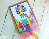 It's A Small World Centerpiece...Set of 1 Centerpiece