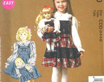 MATCHING JUMPER PATTERN / Girl and American Girl Doll Outfits