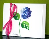 Hydrangea Note Cards - Set of 12