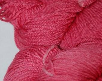 Studio June Yarn Daisy DK, Superwash Merino, DK Weight, Color: Light Cherry Rose