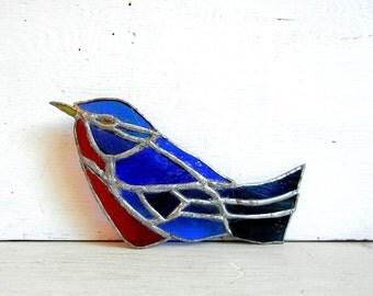 Stained Glass Bluebird | Blue Bird | Lightcatcher | Glass Bird