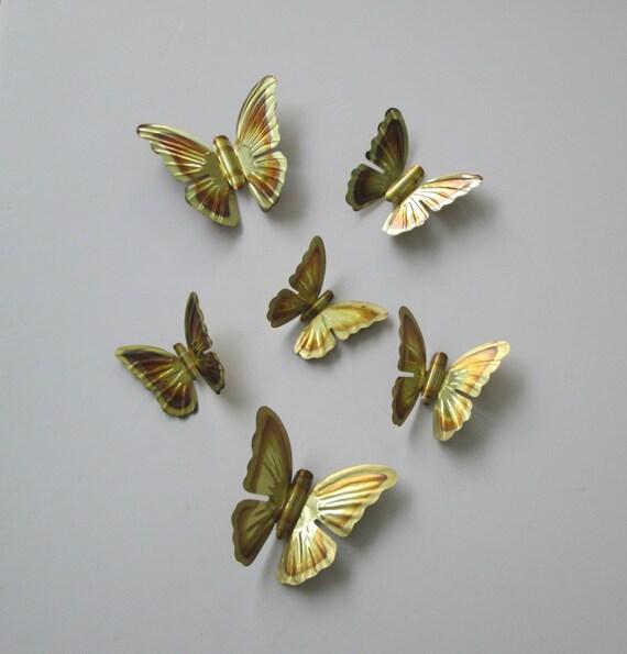 Metal Butterfly Wall Decoration : Butterflies metal wall art