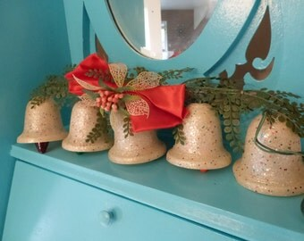Awesome Vintage Christmas Ringalite Bell Lights