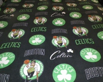 Boston Celtics Large Fleece Blanket