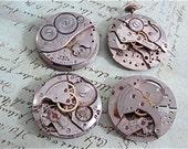 Featured - Steampunk supplies - Watch movements - Vintage Antique Watch movements Steampunk - Scrapbooking T55