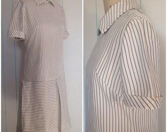 Handmade Striped 70' Dress