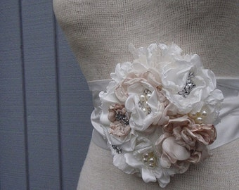 Bridal sash, sash, belt, wedding sash, bridal belt, wedding belt, flower sash, bridemaids, bridal accessories, wedding accessories, gift,