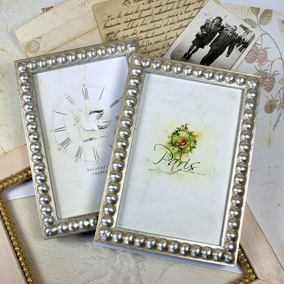 4x6 inch or 4x5 inch silver boule picture frame silver wedding office desktop family deluxe. Black Bedroom Furniture Sets. Home Design Ideas