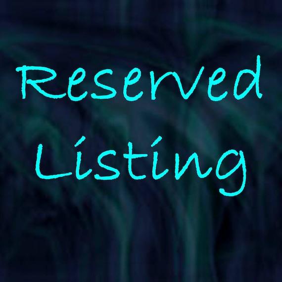 CUSTOM PAINTING RESERVED for Craig Reserved Listing Made to Order Custom Art By  Leslie Allen Fine Art