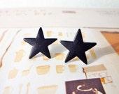 SALE - Big Star Stud Earrings