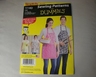 New Simplicity Apron Pattern 1140  (Free US Shipping)