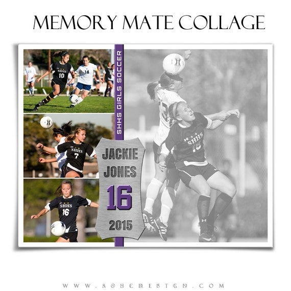 sports memory mates on the field 2 8x10 templates by ashedesign. Black Bedroom Furniture Sets. Home Design Ideas