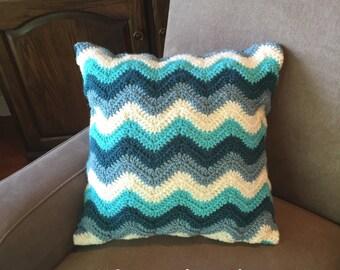 Crochet PATTERN Pillow Cover- Chevron - Pillow Cover - Home Deco