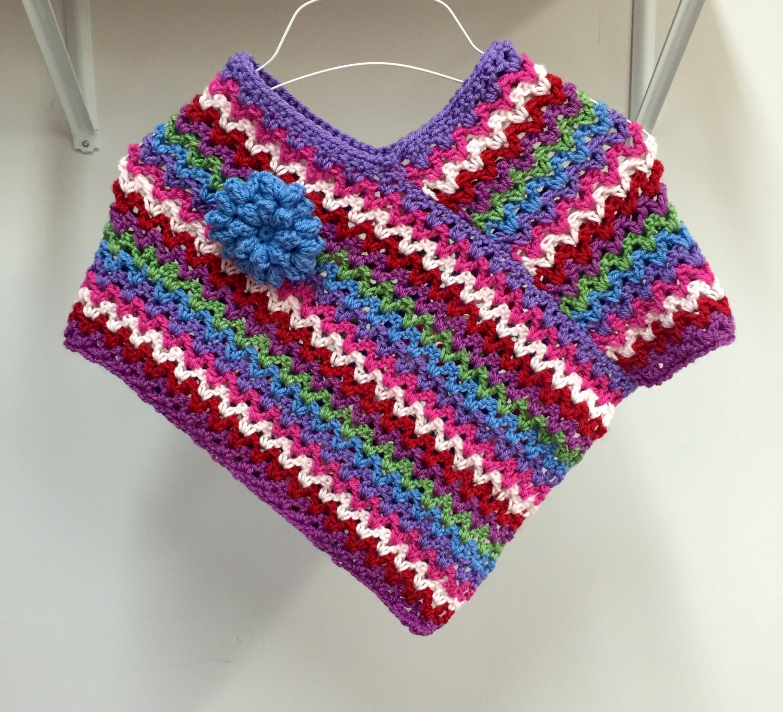 Bohemian Poncho Free Crochet Pattern : Crochet PATTERN Poncho Boho Pattern Crochet by ...