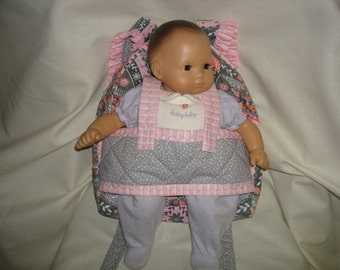 Baby  Doll Carrier in Silent Cinema by Jenean Morrison with coordinating accents