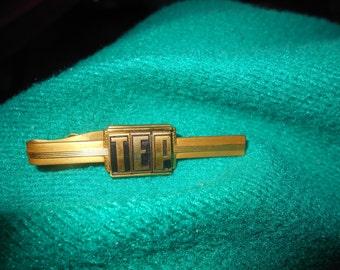 Vintage Hickok Tie Clip T E P