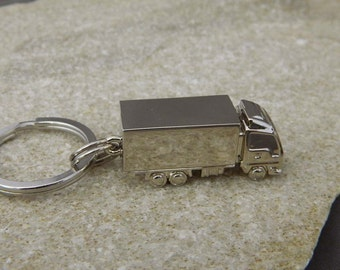 Container Truck Keychain