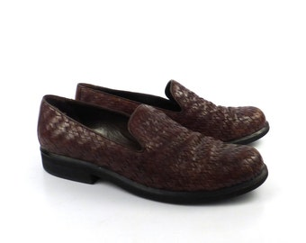 Cole Haan Shoes Brown Vintage 1980s Leather Shoes Women's size 8 AA