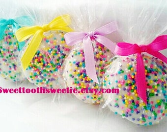 Easter Spring Chocolate Covered Oreos Cookies Spring Wedding Favors Pastel Baby Shower Cookies Sweet 16 Party Birthday Party Favors