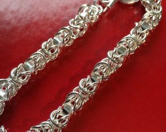 Byzantine Fancy Chainmaille Bracelet