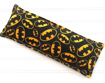 Batman Superhero Microwavable Heating Pad and Ice Packs, Keepin' Cozy Willy Pad; Warm Compress and Cold Compress, Multiple Sizes