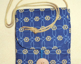 Small Necklace Style Purse, Cell Phone Holder