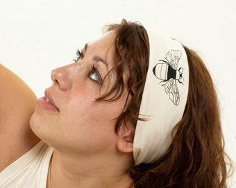 Bee Organic Head Wrap - Bamboo/Organic Cotton