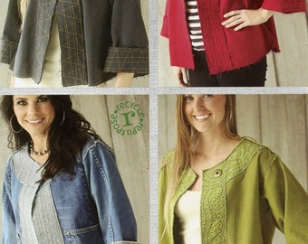 Cutting Edge Jacket Sewing Pattern - Indygo Junction (IJ977CR)