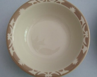 4 Vintage Syracuse China Restaurant Ware Bowls Airbrushed Border