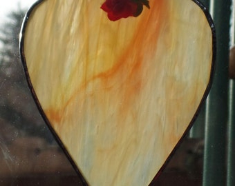 Stained Glass,Heart, Sun Catcher,Suncatcher,Valentine