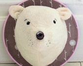 Polar Bear Trophy Head instant download pdf pattern