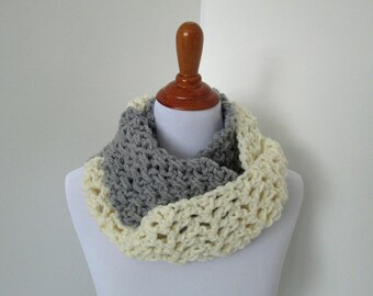 Crochet Scarf Pattern: Two-Timer Infinity Scarf