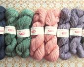super soft handdyed baby alpaca yarn