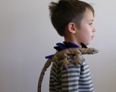 Toy stuffed lizard - reptile stuffed animal - colorful and realistic - nature inspired