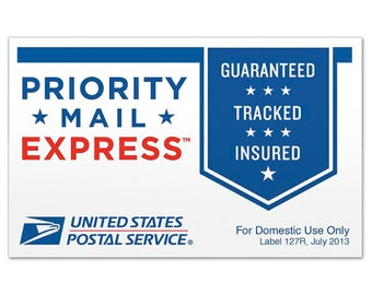 USPS Shipping Express Mail Upgrade