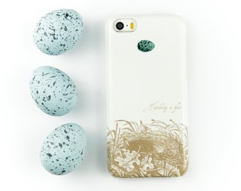 Robins Egg iPhone 6S Case - Hatching a Plan iPhone 5S Case, Robins Nest iPhone 6, iPhone 6S Plus Case