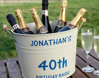 Personalised Birthday Bucket