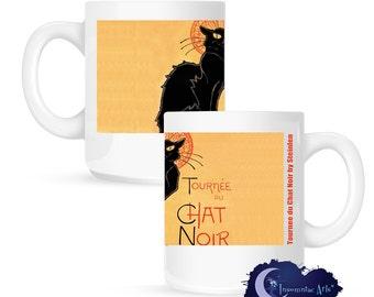 Tournee du Chat Noir by Steinlen 15 oz Coffee Mug