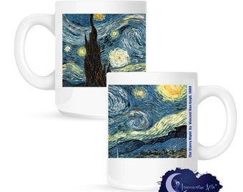 Starry Night by Vincent Van Gogh 15 oz Coffee Mug