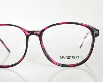 SALE Purple Sunglasses Vintage 1970s Eyeglasses Womens Ladies Unisex Indie Hipster Chic Amethyst Amber Black NOS New Old Stock Deadstock 70