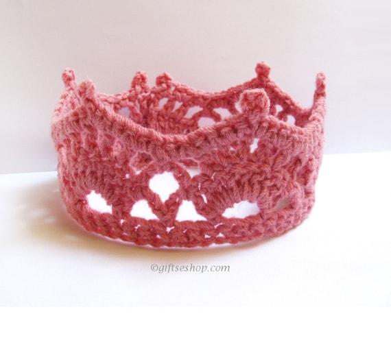 Crochet Newborn Princess Crown Tiara Pattern PDF N59 by ...