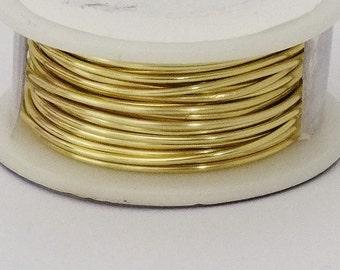20GA Beadsmith Champagne Gold Color Non Tarnish  Wire 6 Yards
