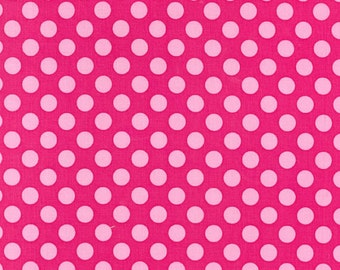 Michael Miller Fabric Ta Dot Confection Pink