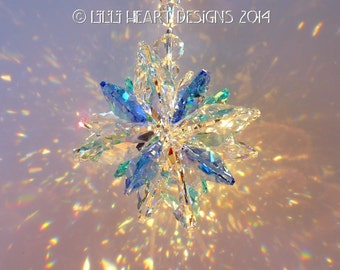 M W Swarovski Crystal Extemely Rare Indicolite Octagons Mixed