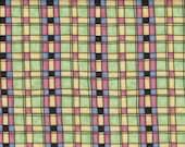 Green Plaid 100% Cotton Fabric