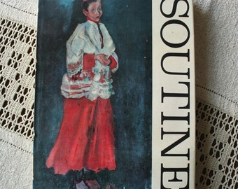 Beautiful Chaim Soutine Vintage Art Book Hand Tipped Plates by Jean Leymarie