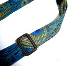Liberty London Print Belt Hera Peacock - FREE SHIPPING WORLDWIDE