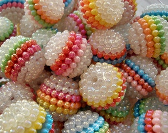 AB Berry Beads 20mm  (10)