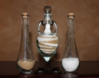 Sand Ceremony Vase Set Heart Shaped